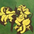 Lilienzauber auf grün